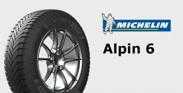 205/55R16 91H Zima Michelin Alpin6 C-B-69-2
