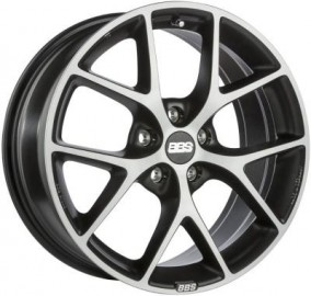 8×18 5×112 ET52 SD82,0 PFS BBS SR volcano-grey diamondcut