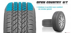 255/65 R17 110H LETO Toyo OPEN COUNTRY U/T