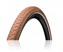 "42-622 RIDE Classic [Reflex] brown/brown 28"" 28 x 1.6 Mestské Extra Puncture Belt"